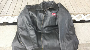 5XL Leather Jacket