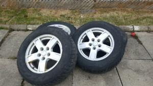 5 mags jeep dodge 5x127 300$ nego