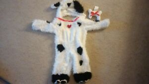 Dalmation Puppy Halloween Costume for Babies/Toddlers