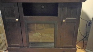 Fake Fireplace heater stand