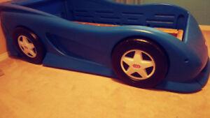 Little tikes twin sz.  car bed
