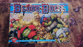Blood Bowl 2nd edition boardgame
