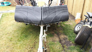 2014 2 place sled trailer
