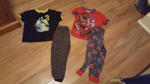 Boys pj sets size 4/5