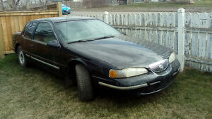 1996 Mercury Cougar xr7 Coupe (2 door) trade for quad
