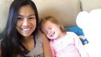 Looking for live out nanny job for full time or part time.