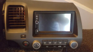 Touch Screen In-Dash Stereo With Bluetooth And Back up Cam