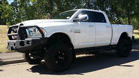 "2014 RAM 3500 LARAMIE  6"" BDS, WINCH, BUMPER, BOARDS, GORGEOUS !"