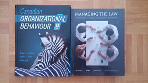 Ryerson Law and Business Textbooks