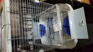 Vision birdcage with accessories Cornwall Ontario image 1
