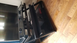 Reduced Z-Line TV stand