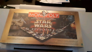 Monopoly Star Wars 3D Episode 1 Collectors Edition