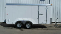 7x14 TNT Enclosed Trailer w/ Barn Doors RENT, BUY or LEASE!!!