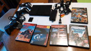 PS2 PLAYSTATION 2 COMPLETE CONSOLE 2 CONTROLLERS MEMORY 3 GAMES