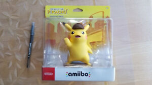 Sealed New Nintendo Large amiibo Detective Pikachu Pokemon