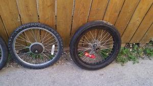 20 inch wheels.