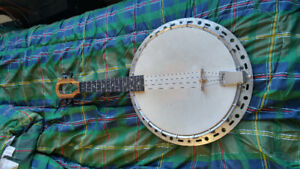 Hand made banjo ukulele *price reduced*