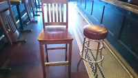 Bar Stools and Tall chairs!