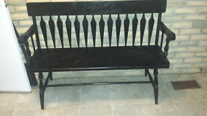 Wooden Maple Bench