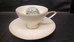 Elizabethan Staffordshire Grosvenor Windsor Hammersley cups