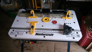 FOLDING ROUTER TABLE NEVER USED