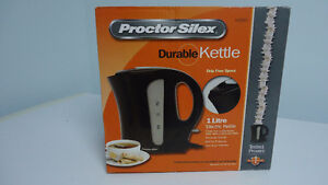 Proctor Silex Electric Kettle 1 Litre – New in Box Windsor Region Ontario image 1