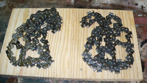 Two brand new 16 inch chainsaw chains $25.00 OBO