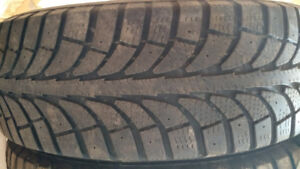 Winter Tires (2) - Size: 185/65R14/XL