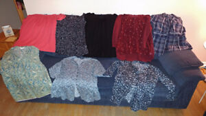 **SALE!** NAME BRAND shirts/hoodies/sweaters+more 52pcs for $180