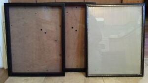 Picture frames - various sizes and styles