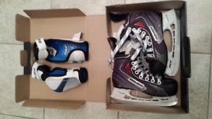 Skates and elbow pads