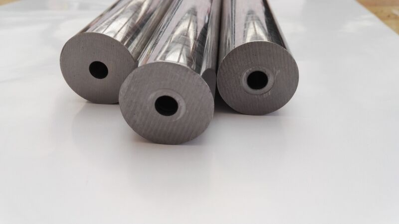 7,62mm - drilled steel rods - drilling -  650mm