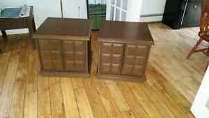 End Tables SOLD