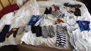 0 - 3 month clothes & maternity clothes