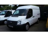 2013 Ford Transit T260 100 Bhp Six Speed 64000 Miles From New Meduim Roof,cars