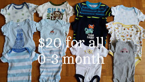 0-3 MONTH BABY BOY CLOTHES/BLANKETS/SWADDLES