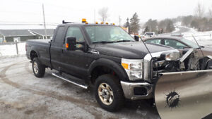 2016 F-250 XLT 4x4 with Fisher Xtreme V Plow