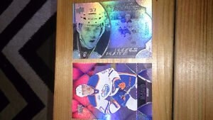 2 Conner Mcdavid Rookie cards one is platinum profiles