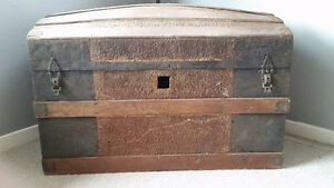 """Old Wood/Tin Type Spice Chest """"HFX Hoarders and Collectors"""""""