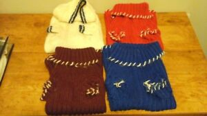 WARM DOG COATS FOR THE COLD FALL AND WINTER