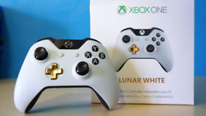Xbox One Special Edition Lunar White Controller