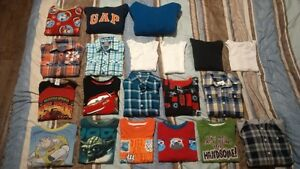 Shirts, T-shirts, Sweaters, 20 pieces, Size 5 / 6