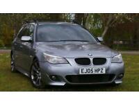 2005 BMW 5 Series 2.5 525d Sport Touring 5dr Estate Diesel Manual