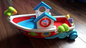 Fisher Price boat.