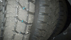 winter tires Toyo G SI5 like new 205/55/16 West Island Greater Montréal image 1