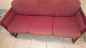 Small Red Couch