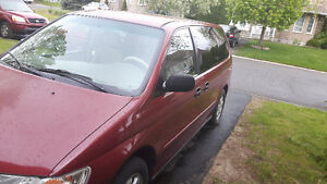 2003 Honda Odyssey minivan work van