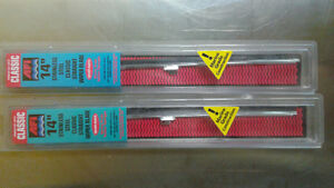 "Two NEW 14"" marine windshield wiper blades"