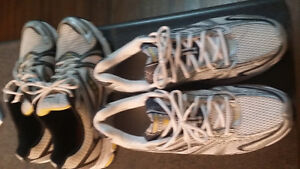 2 brand new pairs of running shoes size 14