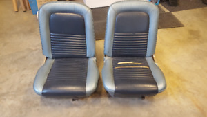 1967 67 Ford Mustang Bucket Seat Cores PAIR (1965 1966 1968)